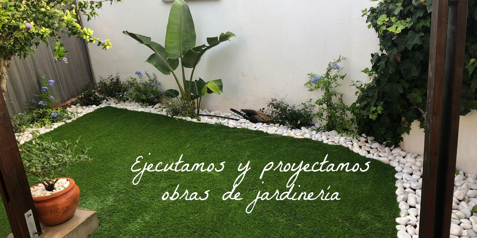 Ejecutamos y proyectamos obras de jardineria
